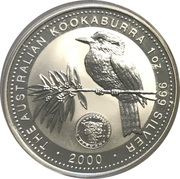 1 Dollar - Elizabeth II (Australian Kookaburra - January) -  reverse