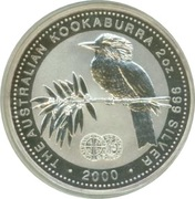 2 Dollars - Elizabeth II (Australian Kookaburra - Hammered Silver King Edward Penny) -  reverse