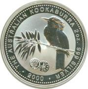 2 Dollars - Elizabeth II (4th Portrait - Australian Kookaburra - Roman Silver Antoninianus) -  reverse