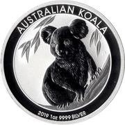 1 Dollar - Elizabeth II (6th Portrait - Koala) -  reverse