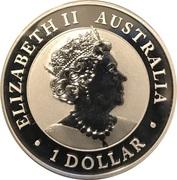 1 Dollar - Elizabeth II (6th Portrait - Australian Wedge-Tailed Eagle - Silver Bullion Coin) -  obverse
