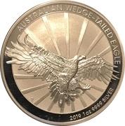 1 Dollar - Elizabeth II (6th Portrait - Australian Wedge-Tailed Eagle - Silver Bullion Coin) -  reverse