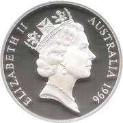 5 Dollars - Elizabeth II (Dame Nellie Melba) – obverse