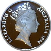 5 Dollars - Elizabeth II (3rd Portrait - Sir Douglas Mawson - Masterpieces in Silver) – obverse