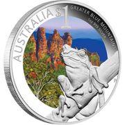 1 Dollar - Elizabeth II (Celebrate Australia Greater Blue Mountains) -  reverse