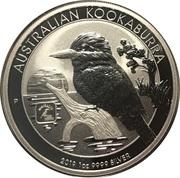 1 Dollar - Elizabeth II (1919 Kookaburra) – reverse