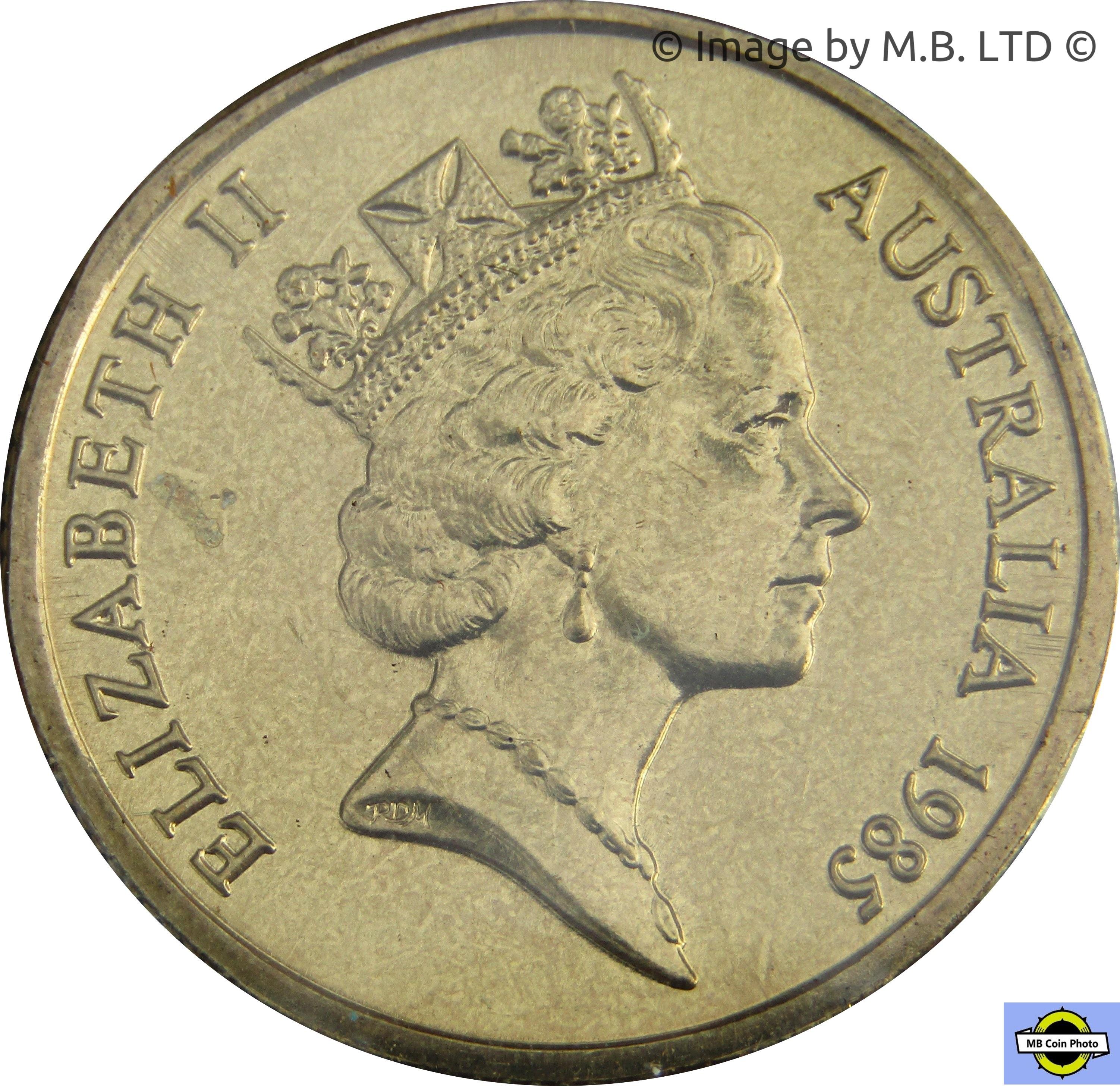 1 Dollar Elizabeth Ii 3rd Portrait