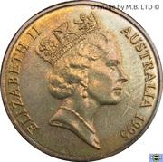 1 Dollar - Elizabeth II (3rd Portrait - Banjo Paterson) – obverse