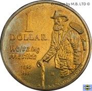 1 Dollar - Elizabeth II (3rd Portrait - Banjo Paterson) – reverse