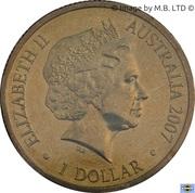 1 Dollar - Elizabeth II (4th Portrait - Year of the Pig) -  obverse