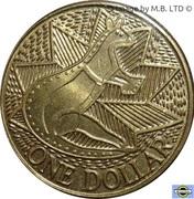 1 Dollar - Elizabeth II (3rd Portrait - First Fleet Bicentenary) -  reverse