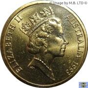 1 Dollar - Elizabeth II (3rd Portrait - Landcare Australia) -  obverse