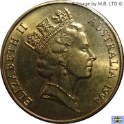 1 Dollar - Elizabeth II (3rd Portrait - Dollar Decade) -  obverse