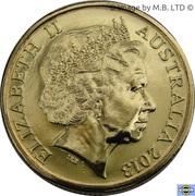 1 Dollar - Elizabeth II (Black Caviar) -  obverse