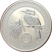 1 Dollar - Elizabeth II (4th Portrait - Australian Kookaburra - Maryland Privy) -  reverse