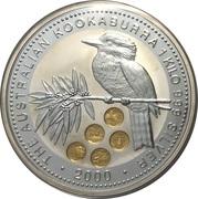 30 Dollars - Elizabeth II (Australian Kookaburra - 2000 U.S.State Quarters) -  reverse