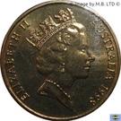 1 Dollar - Elizabeth II (3rd Portrait - Howard Florey) – obverse