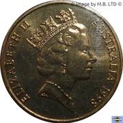 1 Dollar - Elizabeth II (3rd Portrait - Howard Florey) -  obverse