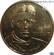 1 Dollar - Elizabeth II (3rd Portrait - Howard Florey) -  reverse