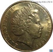 1 Dollar - Elizabeth II (4th Portrait - The Last Anzacs) -  obverse