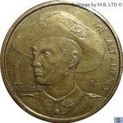 1 Dollar - Elizabeth II (4th Portrait - The Last Anzacs) -  reverse