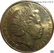 1 Dollar - Elizabeth II (4th Portrait - Year of Older Persons) -  obverse