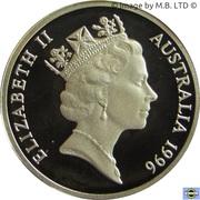 """1 Dollar - Elizabeth II (""""Father of Federation"""") Silver Proof -  obverse"""