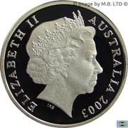 1 Dollar - Elizabeth II (4th Portrait - Korean War - Silver Proof) -  obverse