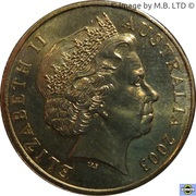1 Dollar - Elizabeth II (4th Portrait - Korean War) -  obverse