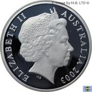 1 Dollar - Elizabeth II (4th Portrait - Volunteers - Silver Proof) -  obverse