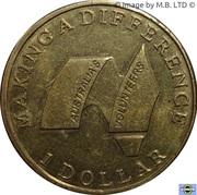 1 Dollar - Elizabeth II (4th Portrait - Volunteers) -  reverse