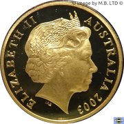 1 Dollar - Elizabeth II (4th Portrait - Volunteers - Coloured Proof) -  obverse