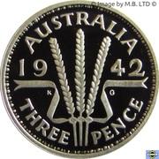 20 Cents - Elizabeth II (Masterpiece in Silver - 1942 3d) -  reverse