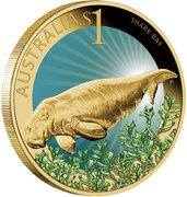 1 Dollar - Elizabeth II (Shark Bay) -  reverse