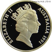 2 Cents - Elizabeth II (3rd portrait, Masterpieces in Silver) -  obverse