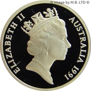 10 Cents - Elizabeth II (3rd Portrait - Masterpieces in Silver Proof) -  obverse