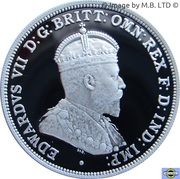 20 Cents - Elizabeth II (4th Portrait - Masterpieces in Silver - 20th Century Monarchs) -  reverse
