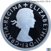 20 Cents - Elizabeth II (4th Portrait - Masterpieces in Silver - 20th Century Monarchs) – reverse