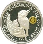 2 Dollars - Elizabeth II (Australian Kookaburra - Spade Guinea) -  reverse