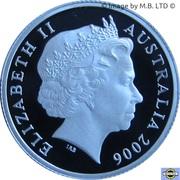 1 Dollar - Elizabeth II (4th Portrait - Television 50 Yrs - Silver Proof) -  obverse