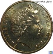 1 Dollar - Elizabeth II (4th Portrait - Television 50 Yrs) -  obverse