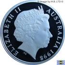 1 Dollar - Elizabeth II (4th Portrait - Howard Florey - Silver Proof) – obverse