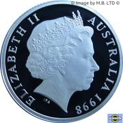 1 Dollar - Elizabeth II (4th Portrait - Howard Florey - Silver Proof) -  obverse