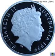 1 Dollar - Elizabeth II (4th Portrait - The Last Anzacs - Silver Proof) -  obverse