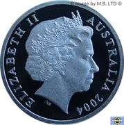 1 Dollar - Elizabeth II (4th Portrait - Eureka Stockade - Silver Proof) – obverse