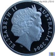 1 Dollar - Elizabeth II (4th Portrait - Eureka Stockade - Silver Proof) -  obverse