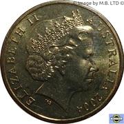 1 Dollar - Elizabeth II (4th Portrait - Eureka Stockade) -  obverse