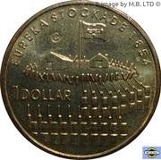 1 Dollar - Elizabeth II (4th Portrait - Eureka Stockade) -  reverse