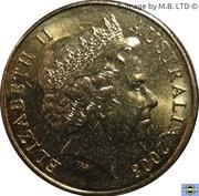 1 Dollar - Elizabeth II (4th Portrait - Coat of Arms) -  obverse