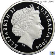 1 Dollar - Elizabeth II (4th Portrait - Masterpieces in Silver - Waltzing Matilda) – obverse